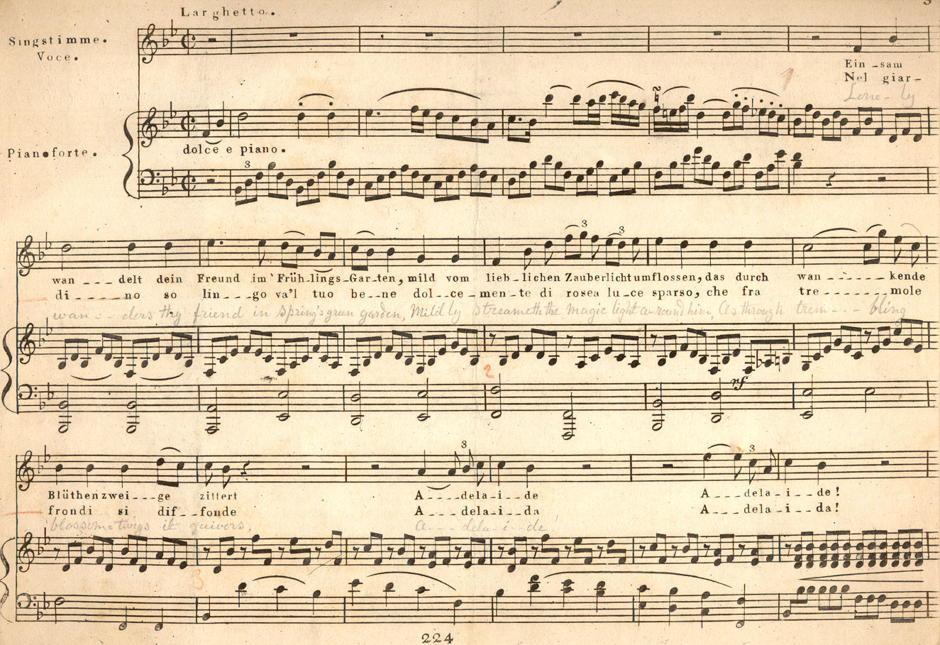 music paper beethoven Even while clinically deaf, he wrote some of his most profound musical scores  beethoven's reliance on sheaves of manuscript paper to.